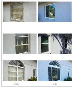 LBG Window Replacement - Before + After 2013