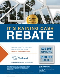 PGT dealer_2015 Rebate_Winguard flyer